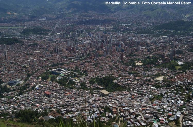 Medellin, Colombia. Foto Manoel Pérez