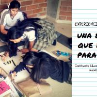 ¿Qué hacer para construir paz desde la escuela? ¡Poner a los estudiantes a escribir! Caso: Institución Educativa San Vicente de Paúl, Medellín