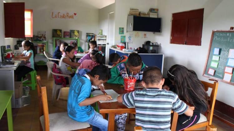 La casita rural. Taller de Lecto-escritura