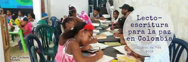 Conoce el especial Lecto-escritura para la paz en Colombia