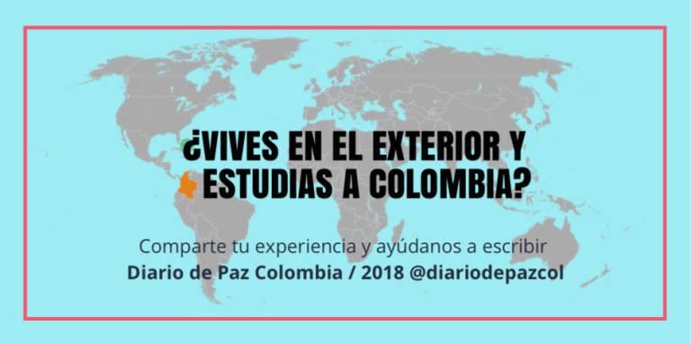 Participa del Especial Colombianos estudiando posgrados en el exterior