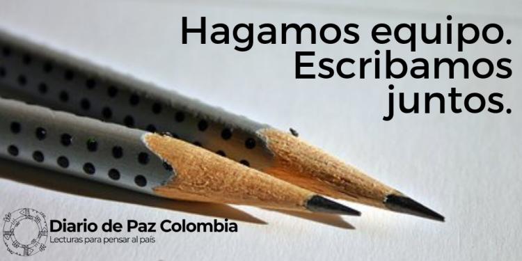 Participa en Diario de Paz Colombia