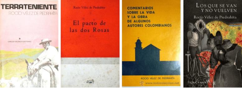 libros rocio velez de piedrahita