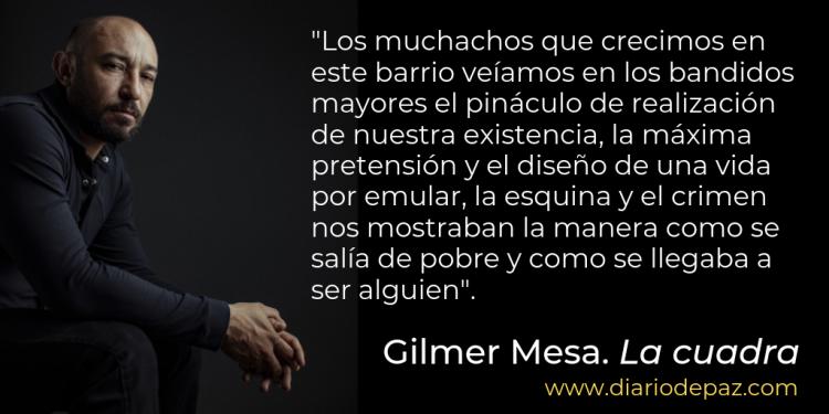 Gilmer Mesa fragmento La cuadra