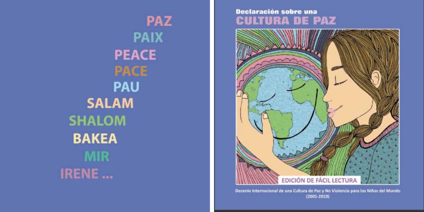 paz en la escuela