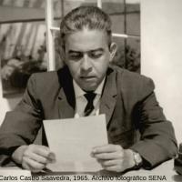 """""""Paz mil veces y mil veces paz"""". La plegaria del poeta Carlos Castro Saavedra"""