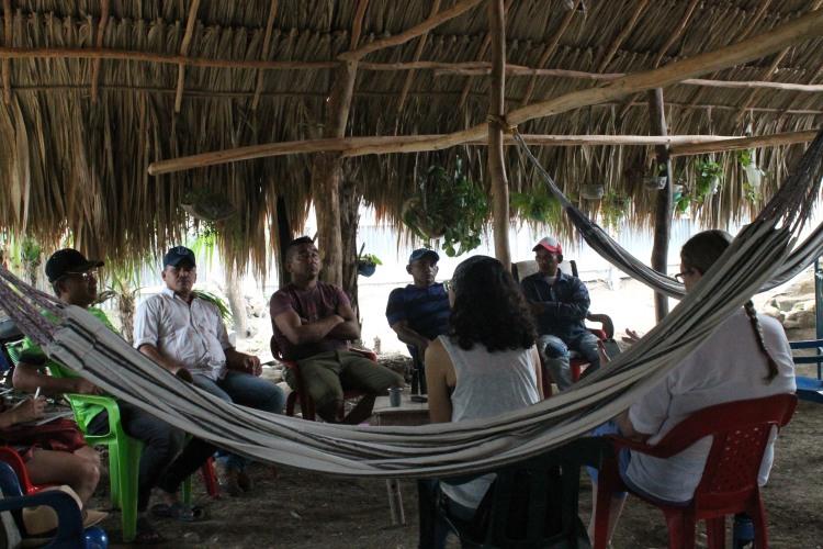 Ex combatientes en Colosó, Sucre