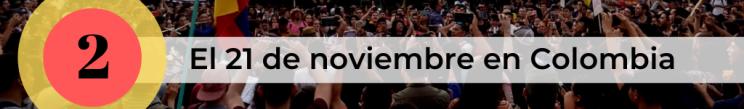 Paro Nacional Colombia 2019