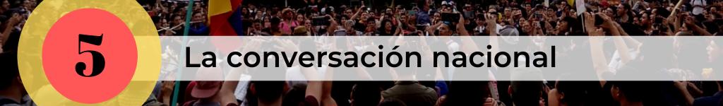 Paro Nacional en Colombia 2019