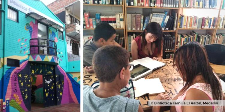 Biblioteca Familia El Raizal Medellin