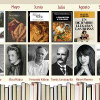 10 Libros en 2021. Estas son las obras del segundo reto del Club de Lectura Virtual de Diario de Paz